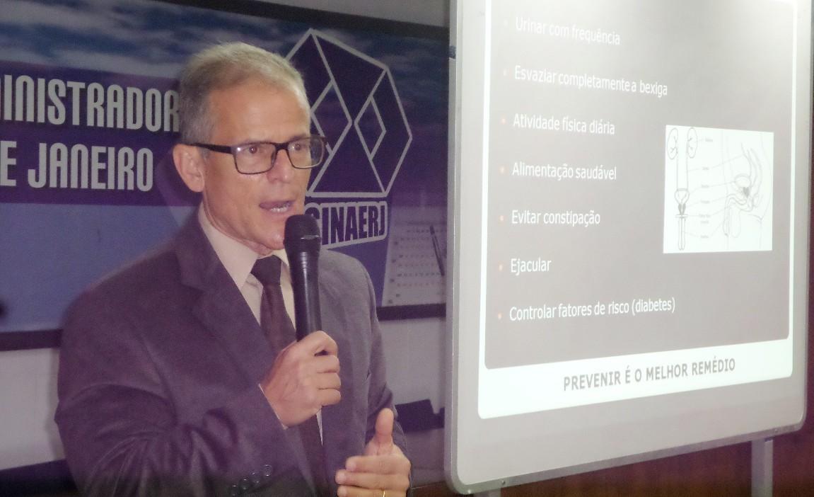 """A Conape promoveu a palestra """"Saúde do Homem"""""""