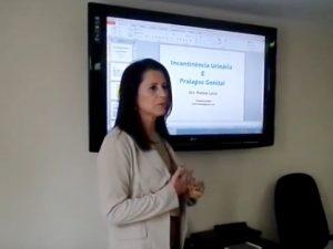 """Conape promoveu a palestra """"Incontinência Urinária e Prolapso Genital"""""""
