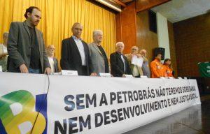É lançada a Frente Estadual em Defesa da Petrobras, da Soberania Nacional e do Desenvolvimento