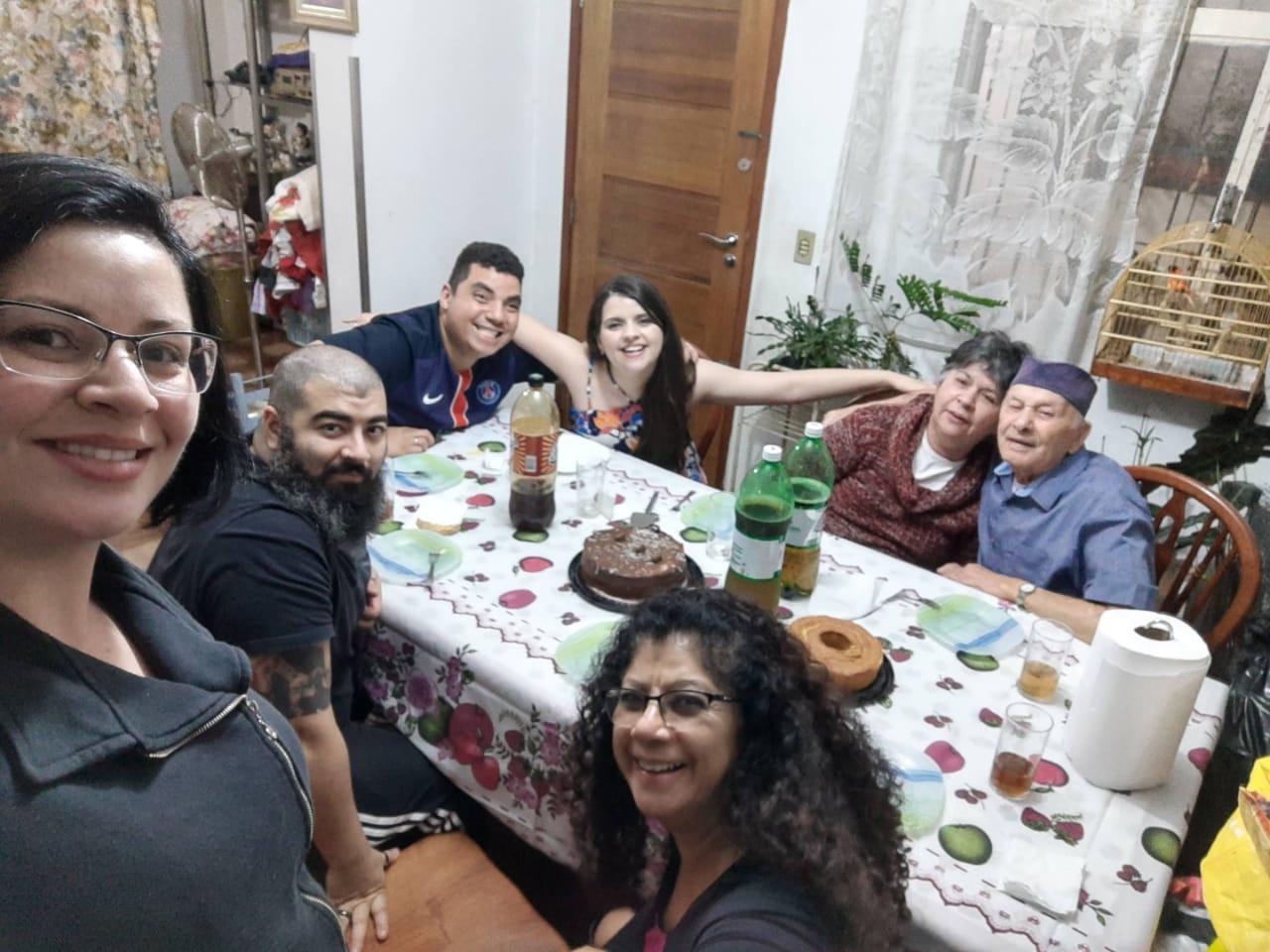 Adib Augusto e família