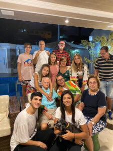 Aloysio Simões e família