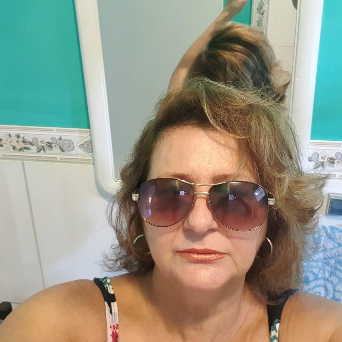Ana Cristina, viúva de Laelio de Andrade