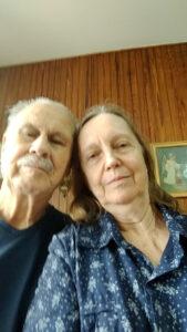 Armando Antunes e a esposa Marlene
