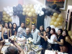 Benedito Péricles de Moraes, em familia