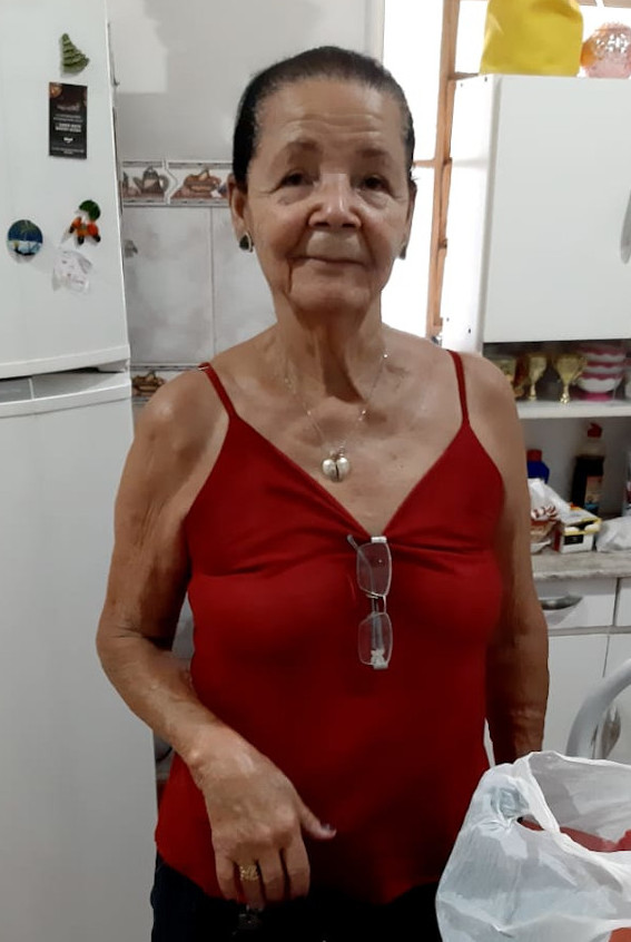 Enedina Silvano Magalhães, viúva de Antonio Alves Magalhães