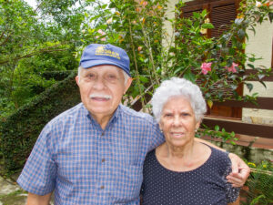 Dona Eny e Geraldo Cavalcante Carneiro (in memoriam)