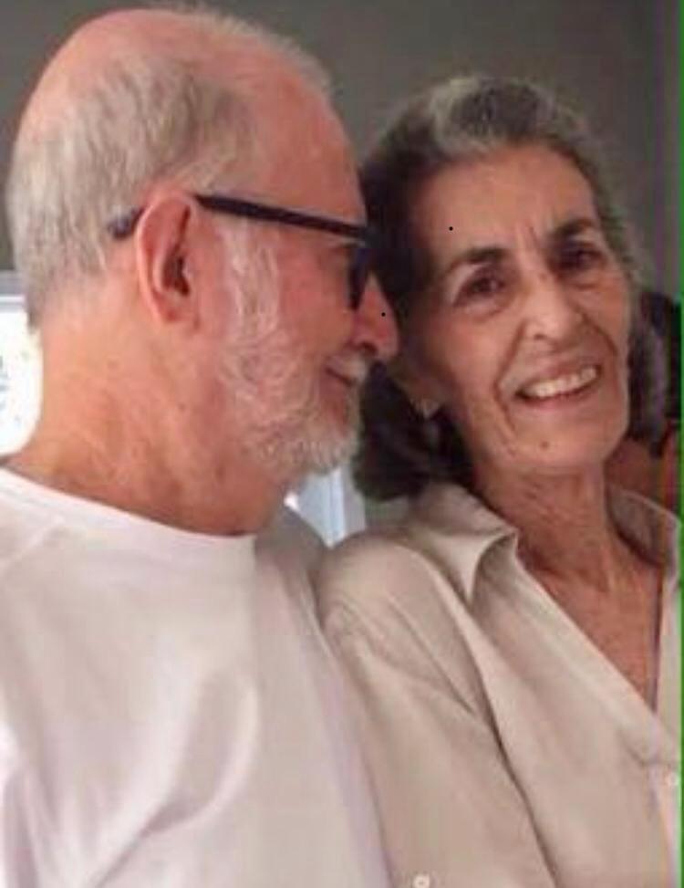 Glimauro Rocha Portilho e a esposa Nádia