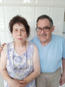 Ildo Soares e a esposa Teresa