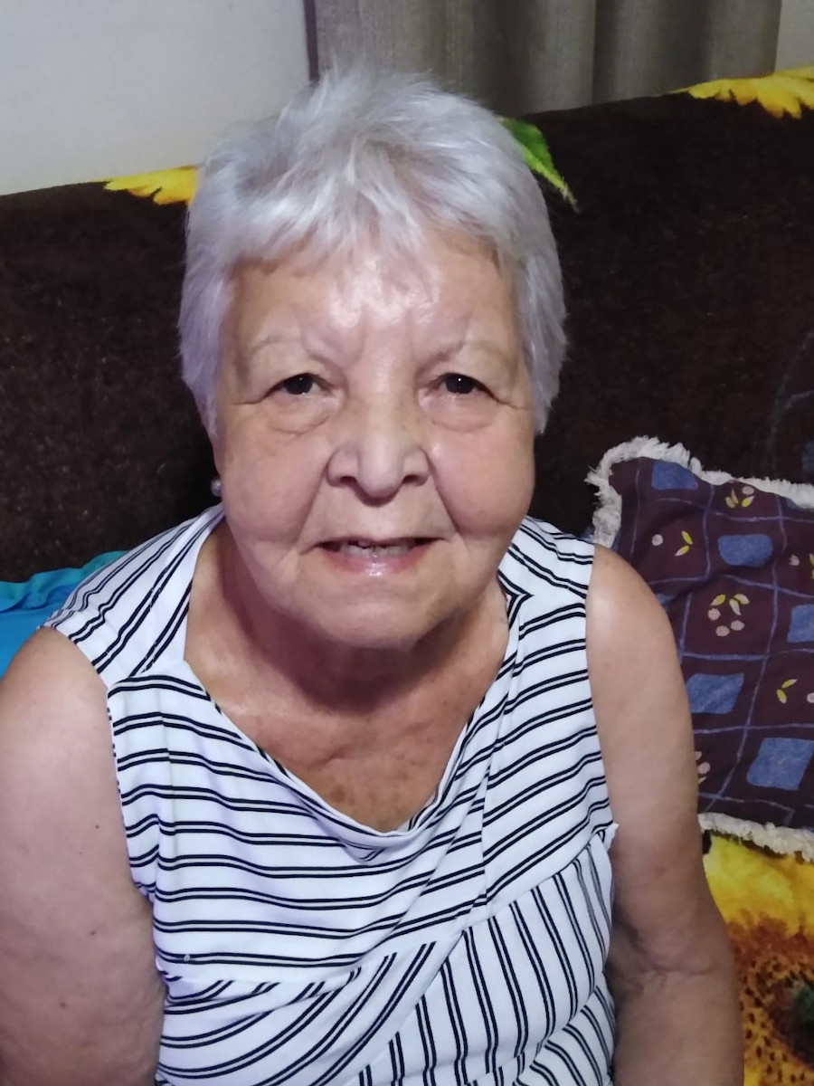 Iolanda da Silva Oliveira, viúva de João Gomes de Oliveira