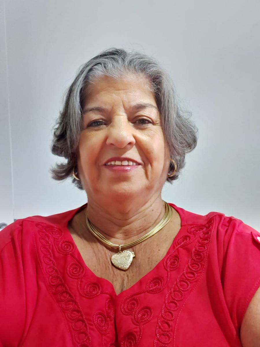 Irenilde Del Valle, viúva de Álvaro Delvale