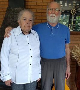 João Martins do Amaral e sua esposa Edena Martins