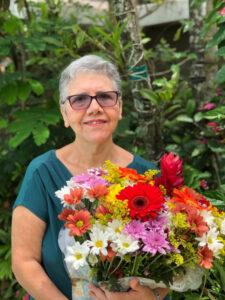 Luzia Anéria Martins Maranhão, viúva de Ely Maranhão