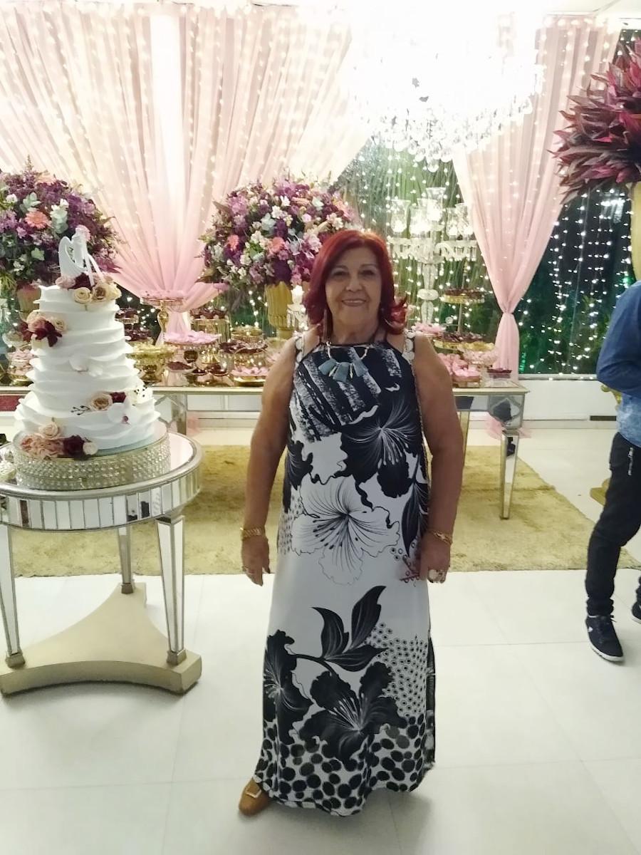 Maria dos Anjos de Assis Monteiro, viúva de Fidelis Correa Monteiro