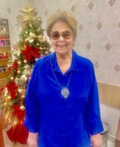 Nancy Gomes da Conceição e Silva, viúva de Carlos Roberto de Paiva Estrella