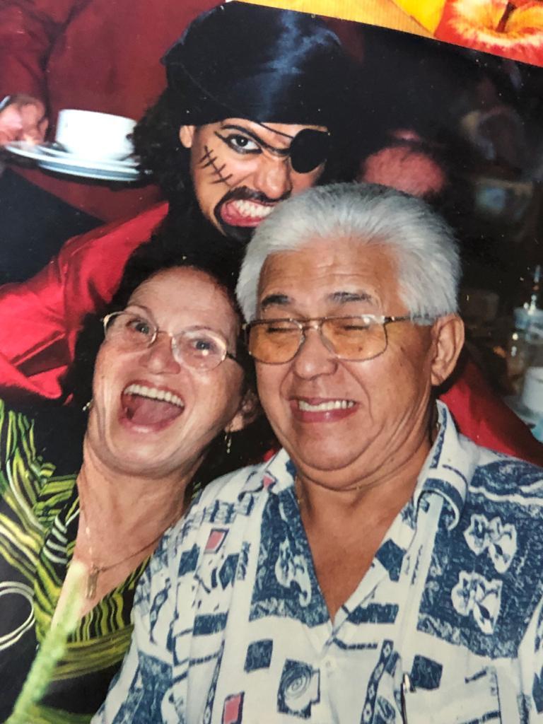 Raimundo A. Simões e esposa (in memoriam)