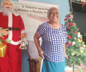 Regina Santana Barbosa, viúva de Nazaire Barbosa