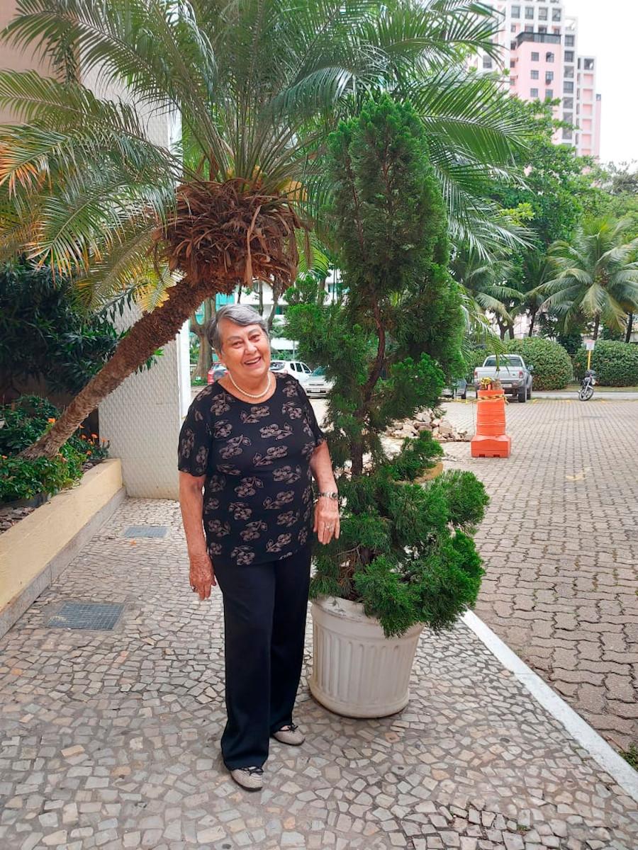 Vilma Tavares Monteiro de Barros, viúva de Paulo Maurício Monteiro de Barros