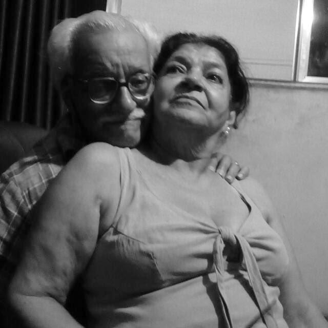 João Batista Rocha e esposa Terezinha