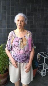 Maria Celia M. Silva, viúva de Carlos A. da Silva