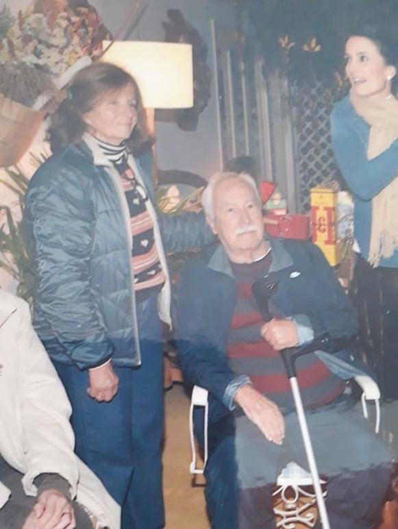Luiz Carlos Natal e esposa Dora