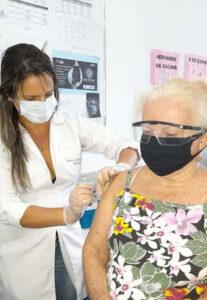 Maria de Fátima Mendonça de Souza, 2ª dose.