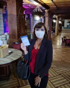Dra.Cláudia Dalla Costa, equipe Conape.
