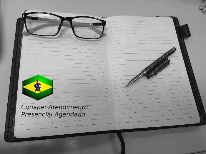 Comunicado Conape: Atendimento Presencial Agendado